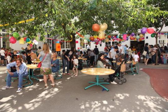 Franzosische schulefest kermesse