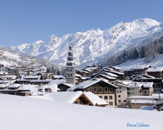 La Clusaz Vilalge Wintersport Dorf