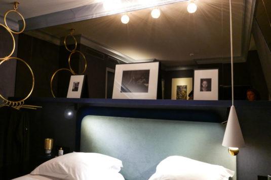 Hotel Schlafzimmer Bob Hoel in Paris