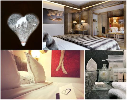 Hotel Zimmer im Hotel Au Coeur du Village in La Clusaz