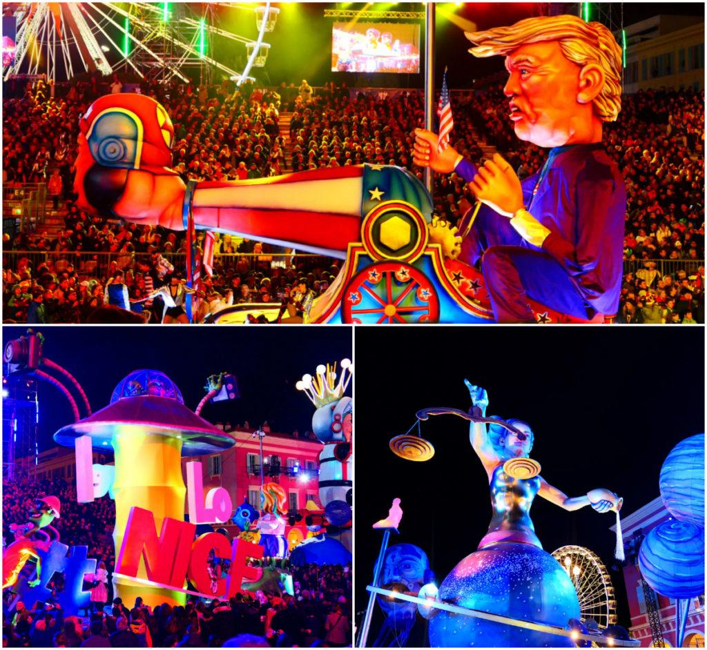 Karneval Nizza Nacht Corso
