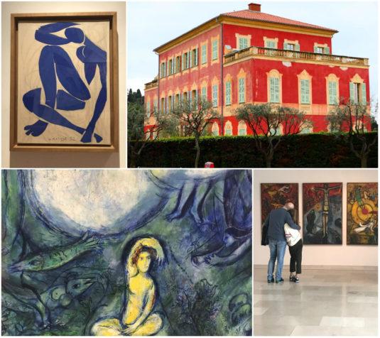 Musee von Chagall und Matisse in Nizza
