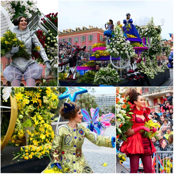 Blumenparade - Nizza Karneval
