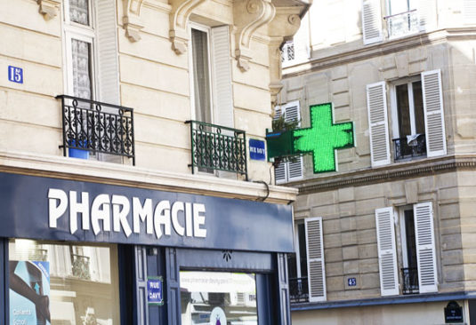 Pharmacie in Paris