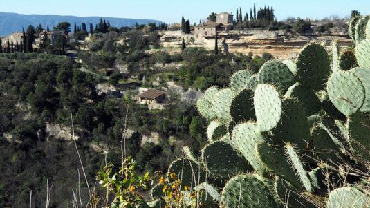 Die Umgebung von Roussillon: das Herz des Luberon