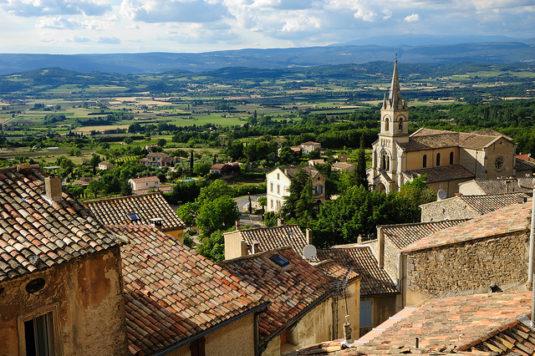 """Bonnieux, das schöne village perché,""""Mein Jahr in der Provence"""""""