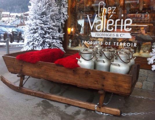 Fromagerie Chez Valérie in La Clusaz