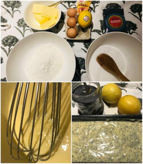 Zitronenkuchen nach französischem Rezept