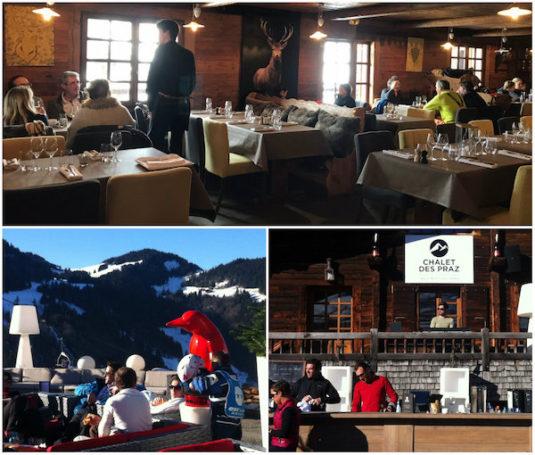 Restaurant Chalet des Praz