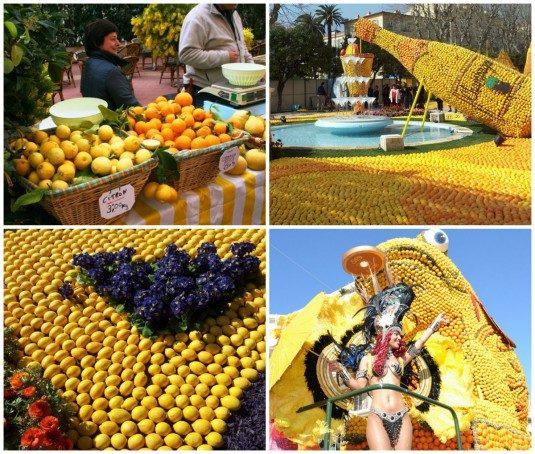 Zitronenfest - Fete du Citron in Menton