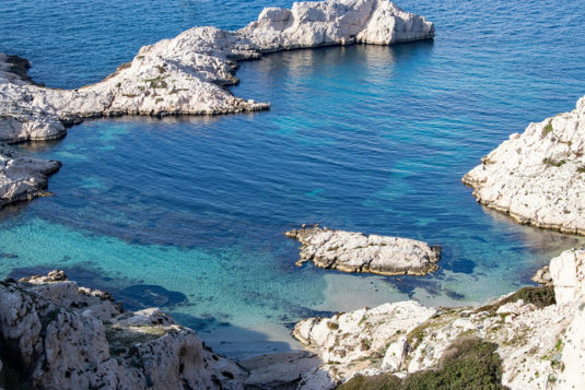 Les Iles de Frioul bei Marseille
