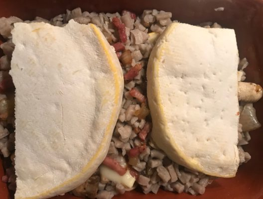 Reblochon Käse mit Crozets