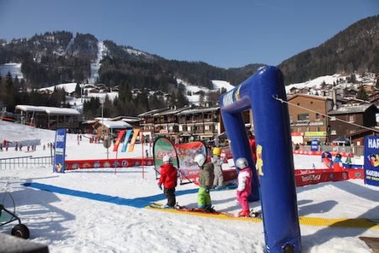 ESF-Skischule: Kinderpiste in La Clusaz