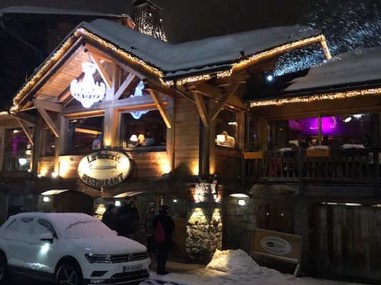 Restaurant La Scierie in La Clusaz