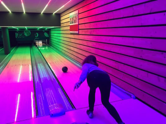 Bowling in La Clusaz