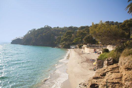 Strand von Rayol
