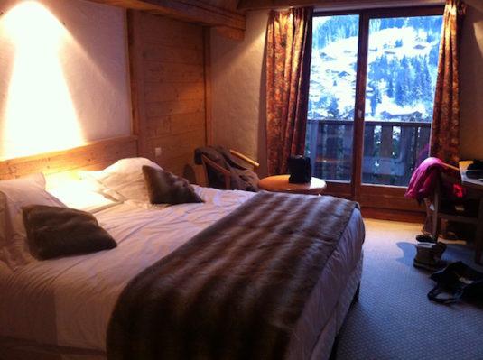 Zimmer im Hotel Alpen Roc La Clusaz