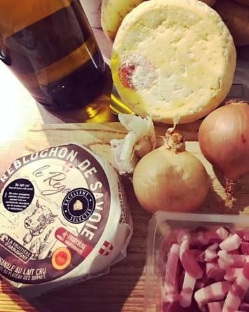 Reblochon Käse aus den Alpen