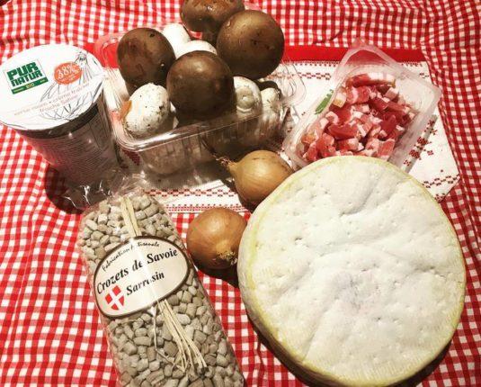 Crozets aus den französischen Alpen