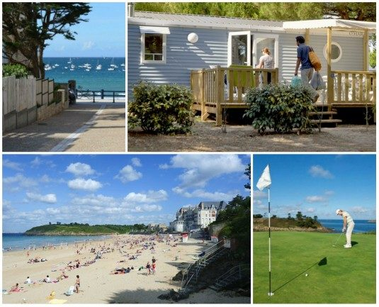 Campingplatz direkt am Strand Bretagne