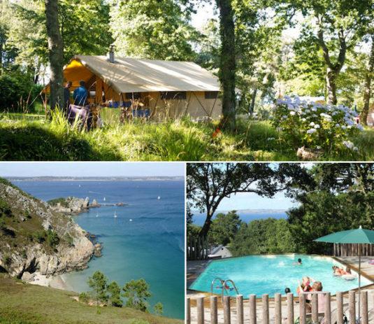 Natur-Campingplatz Huttopia Douarnenez (Westküste der Bretagne)