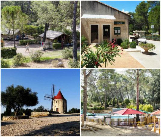 Natur-Campingplatz Huttopia Fontvieille (Les-Baux-de-Provence)