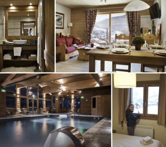 Hübsche Appartementsin einem der schönsten Skiorte der französischen Alpen