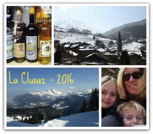 Postcard aus La Clusaz