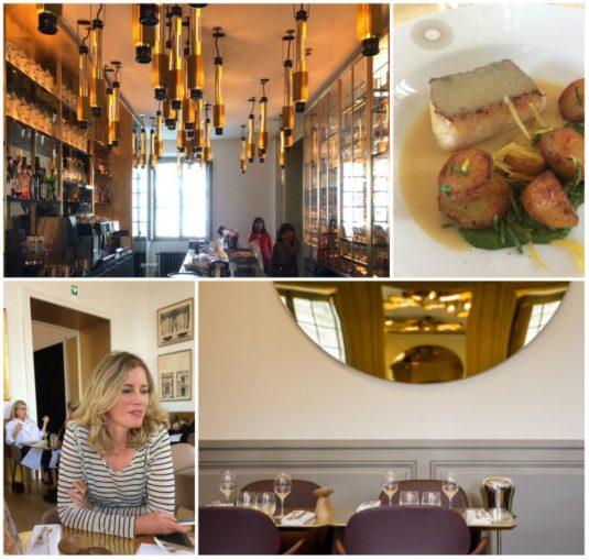 Mittagsessen beim Restaurant von Ducasse bei Versailles