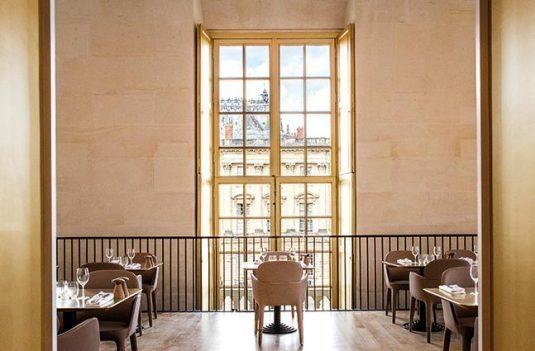Restaurant Ducasse bei Versailles