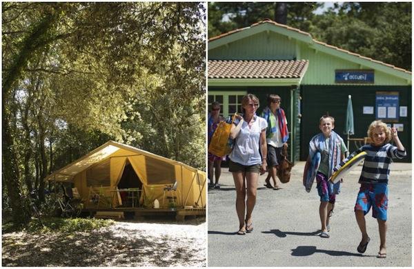Der Campingplatz Huttopia Oléron les Chênes Verts – Île d'Oléron