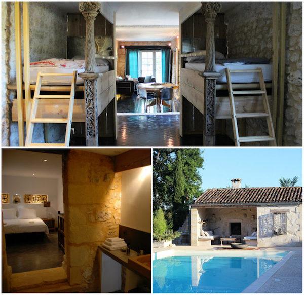 Ferienwohnungen in einem alten Landhaus in Le Cariol
