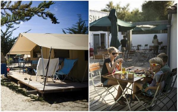 Campingplatz Huttopia Côte Sauvage Île de Ré