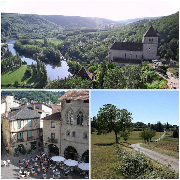 Lot: Burgen und Dörfer wie das atemberaubende Saint-Cirq-Lapopie