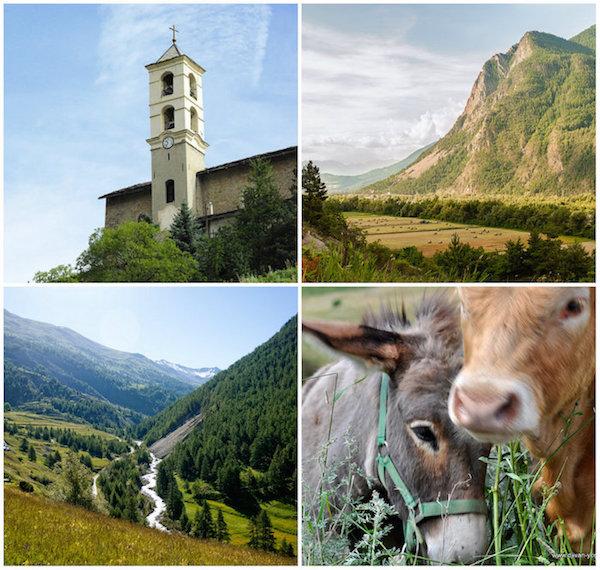 Queyras (Hautes-Alpes/Provence), eine dünnbevölkerte und authentische Region