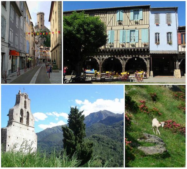 Ariège, ruhiges Gebiet am Fuße der Pyrenäen
