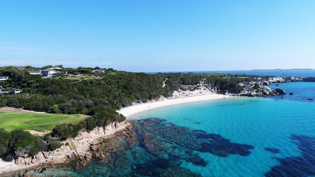 Der Strand von Spérone, unweit von Bonifacio