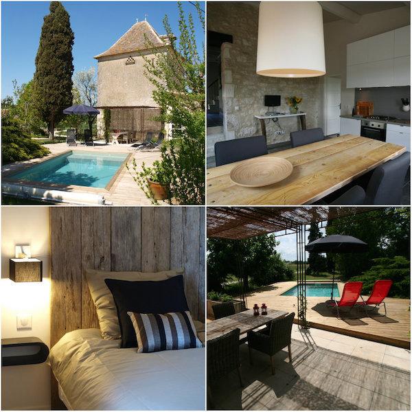 2 elegante Ferienhäuser in Villa Lafage