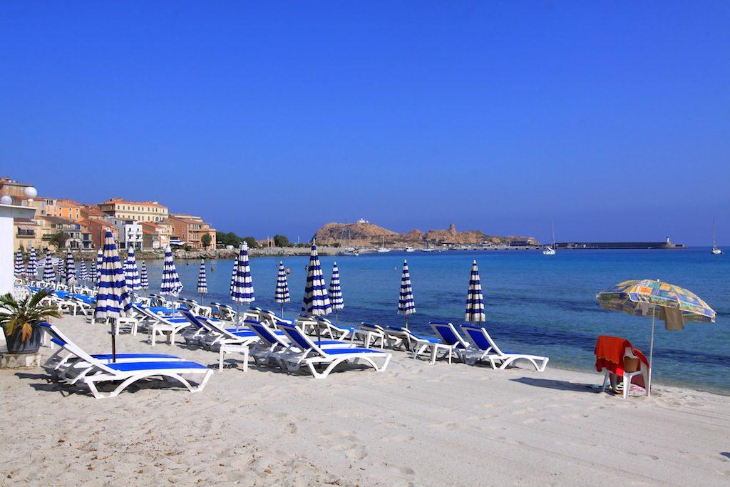 Nord-Korsika: l'ile Rousse