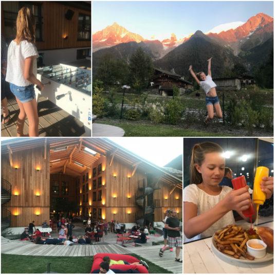 Rocky Pop Hotel im Sommer Chamonix Les Houches Mont Blanc