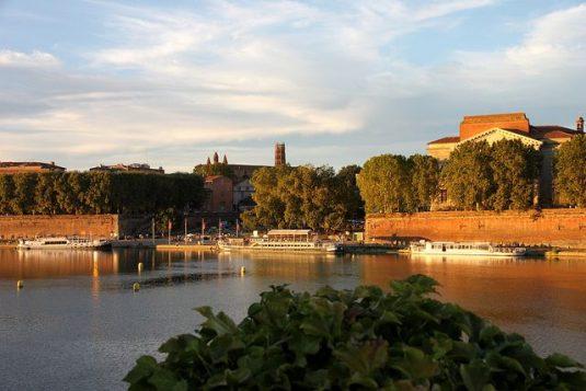 Französischen Städte mit den meisten Sonnenstunden: Toulouse