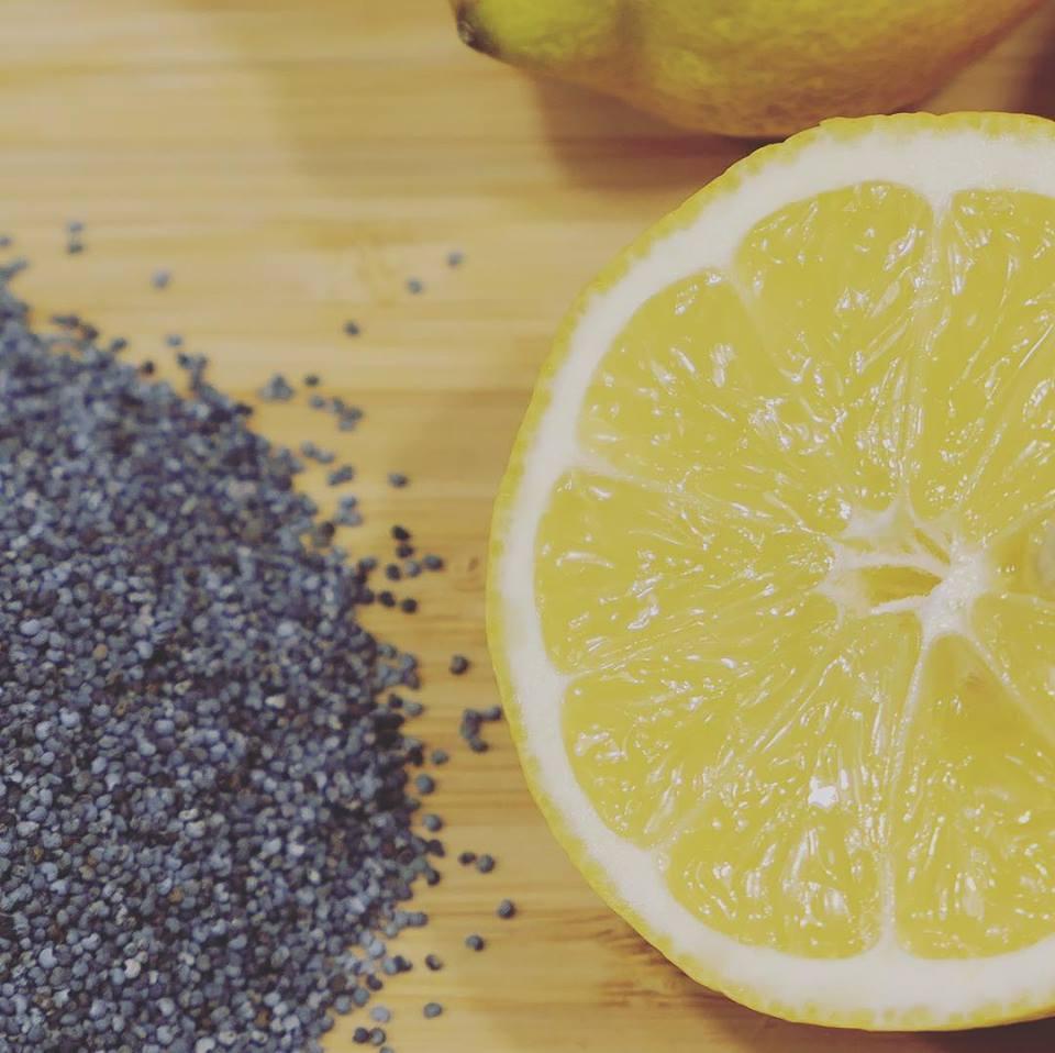 Biologische Zitrone Mohnsamen