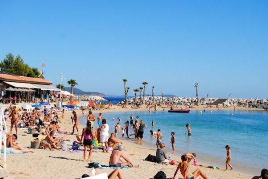 Strand von Toulon