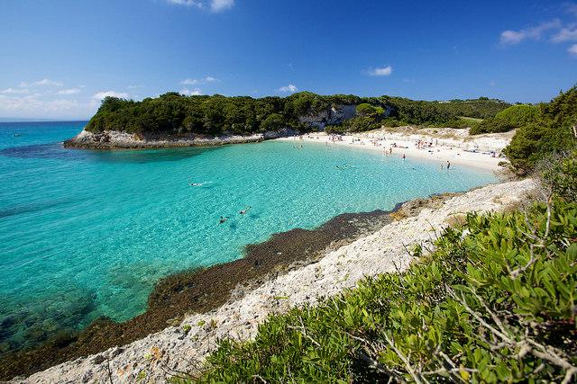 Strand des kleinen Spérone