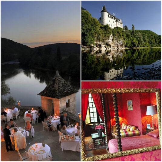 Märchenhaftes Schloss am Ufer der Dordogne Chateau de la Treyne
