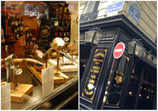 Da Rosa - Rue de Rivoli, Paris, schicke Tapasbar und Delikatessgeschäft