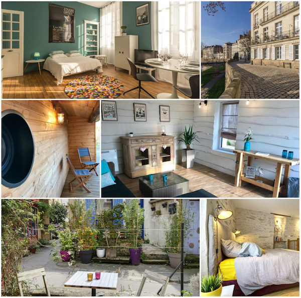 Hip eingerichtete Appartement in Nantes