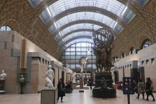 Musée d'Orsay, eines der größten und spektakulärsten Museen Europas