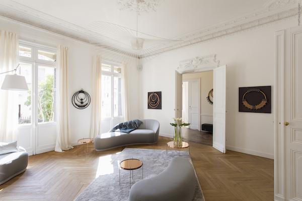Zimmer im Hotel Particulier: eine Oase der Ruhe