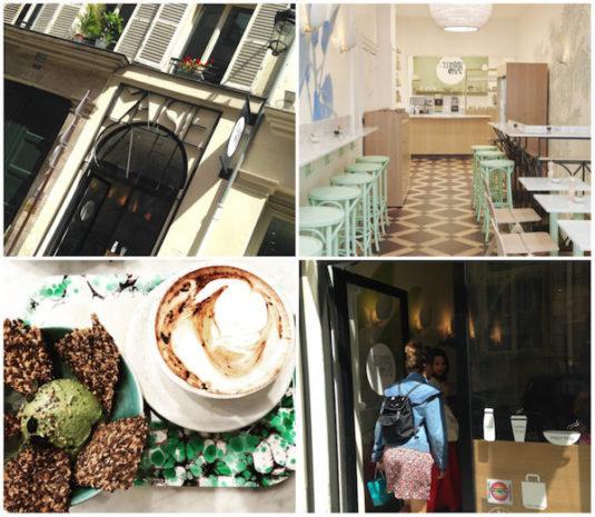 Maisie Café, Lunchbar unweit der Place de la Concorde